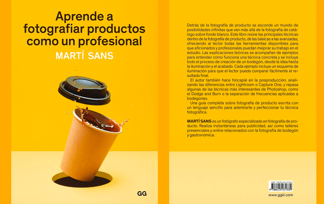 Aprende a fotografiar productos como un profesional libro