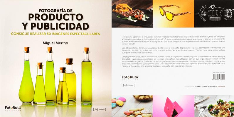Fotografía de producto y publicidad libro