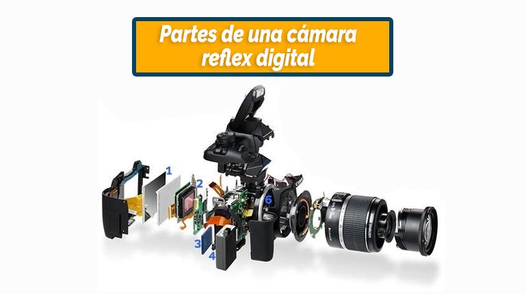 Partes de una cámara réflex digital