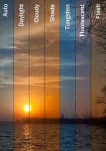como funciona el balance de blancos en fotografía