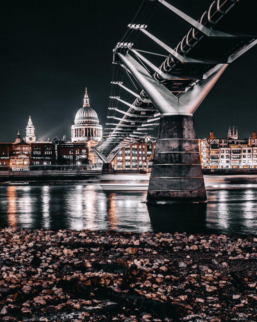 composición equilibrada por distancia en fotografía
