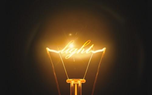 escribir con luz