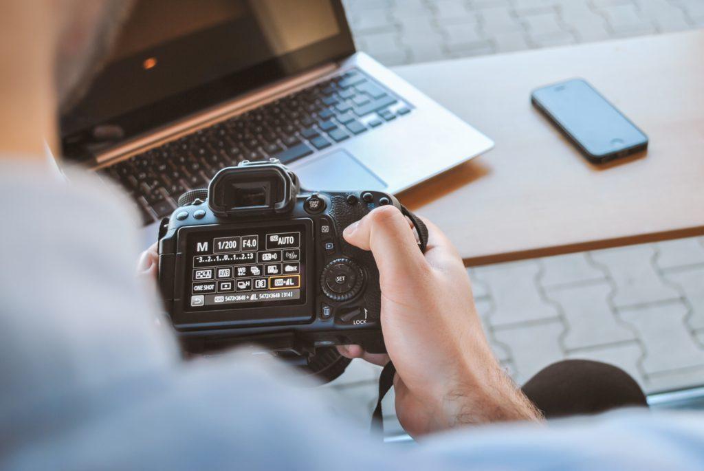 hacer fotografía
