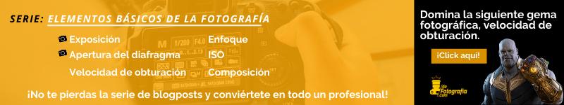 elementos básicos de la fotografía apertura del diafragma