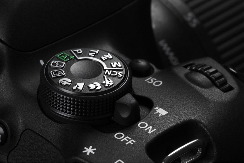 modos de exposición de la cámara